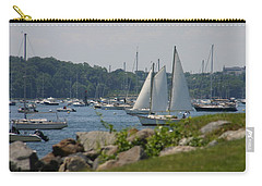 Carry-all Pouch featuring the photograph New England Seascape by Denyse Duhaime