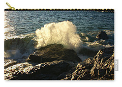 Carry-all Pouch featuring the photograph New Heights by James Peterson