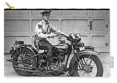 New Jersey Motorcycle Trooper Carry-all Pouch