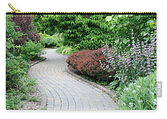 Carry-all Pouch featuring the photograph Frelinghuysen Arboretum Path by Richard Bryce and Family