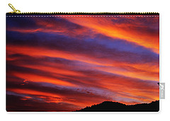 New Mexican Sunrise Carry-all Pouch by Susanne Still