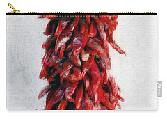 New Mexico Red Chili Art Carry-all Pouch by Barbara Chichester