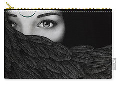 New Moon Carry-all Pouch by Pat Erickson