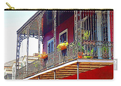 New Orleans French Quarter Architecture 2 Carry-all Pouch