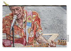 New Orleans Guitar Man Carry-all Pouch