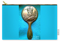 Carry-all Pouch featuring the photograph New Orleans Louisiana Usa Mardi Gras Favor Rex 1912 by Michael Hoard