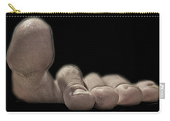 New Photographic Art Print For Sale   Best Foot Forward Carry-all Pouch