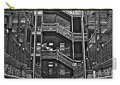 New Photographic Art Print For Sale Bradbury Building Downtown La Carry-all Pouch