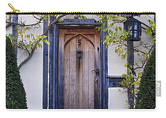 New Photographic Art Print For Sale Doorway 2 In Medieval Lavenham Carry-all Pouch