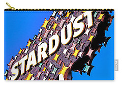 Original Stardust Casino Neon In Las Vegas Pop Art Carry-all Pouch