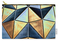 Pop Art Abstract Art Geometric Shapes Carry-all Pouch