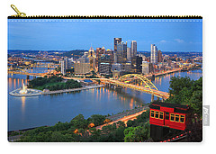 Pittsburgh Summer  Carry-all Pouch by Emmanuel Panagiotakis