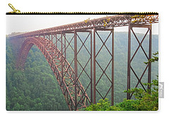 New River Gorge Bridge   Carry-all Pouch by Lars Lentz