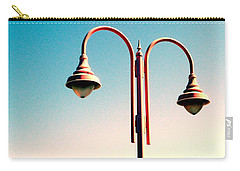 Beach Lamp Post Carry-all Pouch