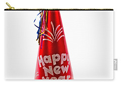 Happy New Year Party Hat Carry-all Pouch