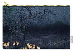New Years Eve Foxfires At The Changing Tree Carry-all Pouch