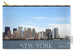 Carry-all Pouch featuring the photograph New York As I Saw It In 2008 by Ausra Huntington nee Paulauskaite
