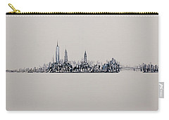 New York City 2013 Skyline 20x60 Carry-all Pouch