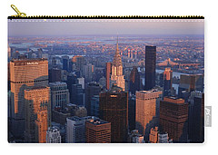 New York City At Dusk Carry-all Pouch