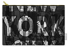 New York City - Black Carry-all Pouch