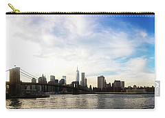 New York City Bridges Carry-all Pouch by Nicklas Gustafsson