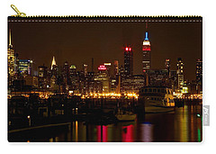 Carry-all Pouch featuring the photograph New York City by Dave Files