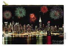 New York City Fourth Of July Carry-all Pouch by Anthony Sacco