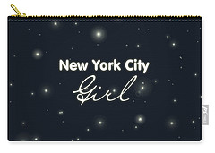 New York City Girl Carry-all Pouch