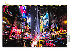 New York City Night Carry-all Pouch by Nicklas Gustafsson
