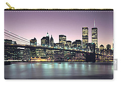 New York City Skyline Carry-all Pouch by Jon Neidert