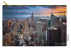 New York New York Carry-all Pouch by Inge Johnsson