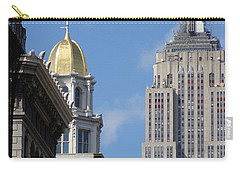Carry-all Pouch featuring the photograph New York New York by Ira Shander