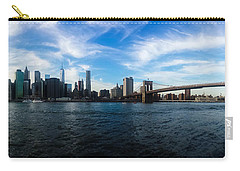 New York Skyline - Color Carry-all Pouch by Nicklas Gustafsson