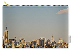 Carry-all Pouch featuring the photograph New York City Skyline by Kerri Farley