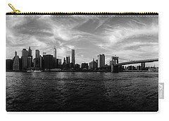 New York Skyline Carry-all Pouch by Nicklas Gustafsson