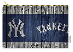 New York Yankees Barn Door Carry-all Pouch by Dan Sproul