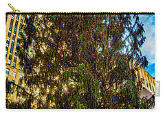 Carry-all Pouch featuring the photograph New York's Holiday Tree by Chris Lord