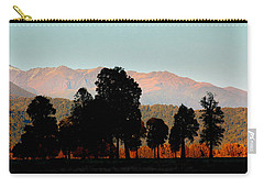 Carry-all Pouch featuring the photograph New Zealand Silhouette by Amanda Stadther