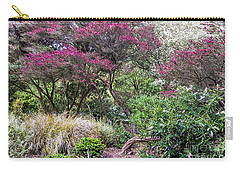 Carry-all Pouch featuring the photograph New Zealand Tea Tree II by Kate Brown