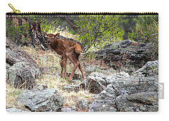 Newborn Elk Calf Carry-all Pouch