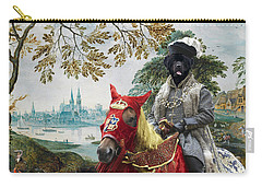 Newfoundland Art - Pasague With Duke Carry-all Pouch