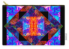 Newly Formed Bliss Mandala Artwork Carry-all Pouch