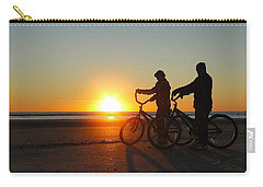 Newlyweds Pause To Embrace The Sunrise Carry-all Pouch