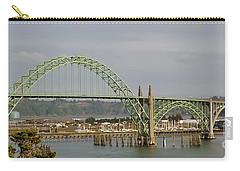 Newport Bay Bridge Carry-all Pouch by Susan Garren