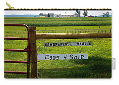 Newspapers Wanted Eggs 4 Sale Carry-all Pouch