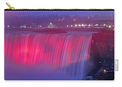 Niagara Falls Pretty In Pink Lights. Carry-all Pouch
