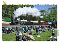 Nickel Plate Berkshire At Horseshoe Curve Carry-all Pouch