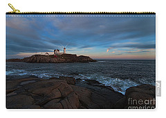 Night At Nubble Light Carry-all Pouch