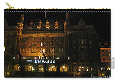 Night At The Empress Hotel Carry-all Pouch
