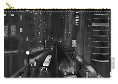 Night City Scape Carry-all Pouch